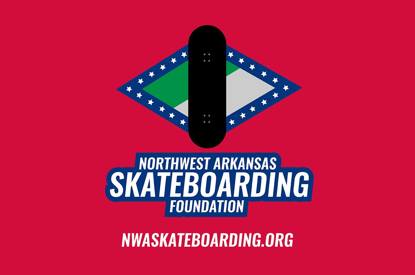 Northwest Arkansas Skateboarding Foundation logo