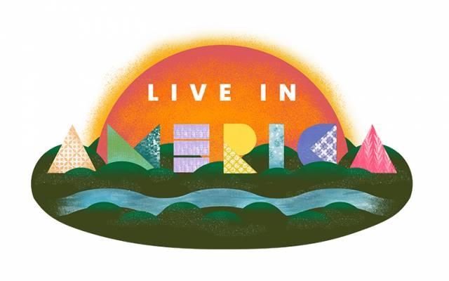 NWA LIVE IN AMERICA Logo