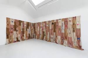 Pia Camil, Skins Shirt Curtain, 2018